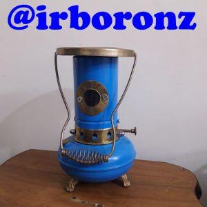 چراغ نفتی برنزی آبکاری شده در سه رنگ