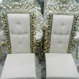 صندلی تکی برنزی مدل بادمجانی