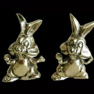 مجسمه برنزی مدل خرگوش