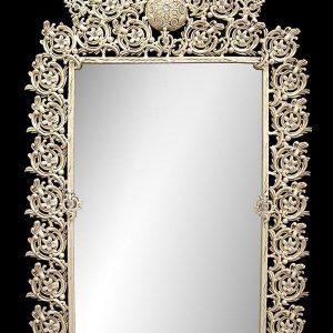 آینه تک برنزی مدل پنجه ای