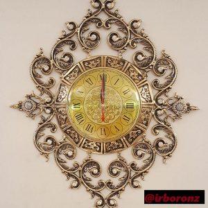 ساعت دیواری برنزی مدل امپراطور