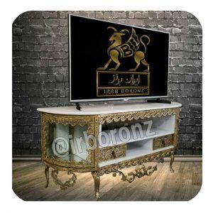 میز تلویزیون ویترین دار یا کمد دار